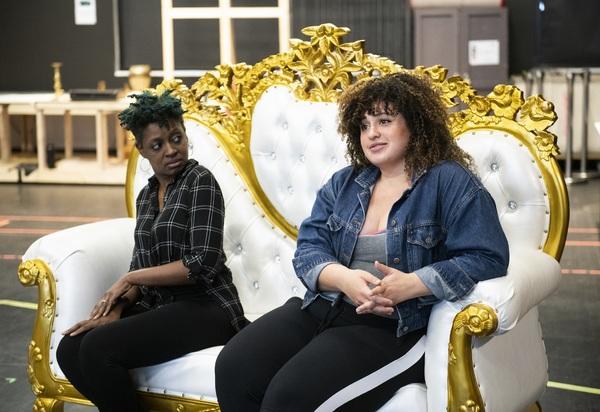 Ebony Marshall-Oliver and Simone Recasner