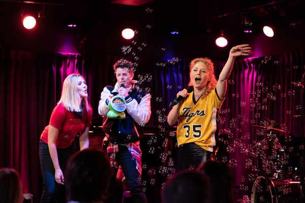 Photo Flash: Steffanie Leigh, Grey Henson & More Relive Teenage Glory Days at BROADWAY HIGH SCHOOL THROWBACK