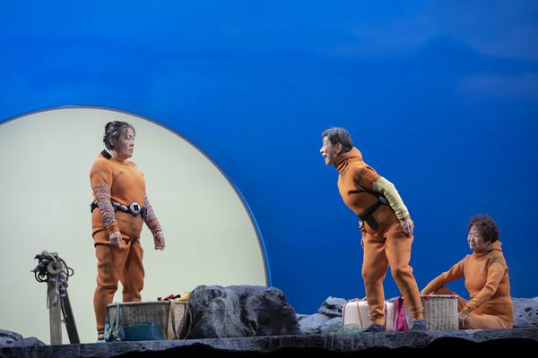 Photo Flash: First Look At ENDLINGS At Loeb Drama Center
