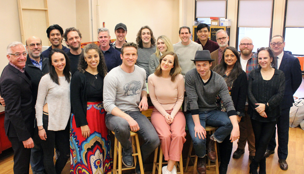 Photo Flash: Bryce Pinkham, Hannah Elless and More Head Into Rehearsal for BENNY & JOON At Paper Mill Playhouse