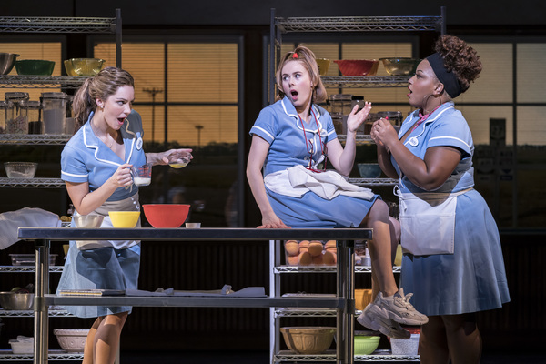 Photo Flash: WAITRESS Is Opening Up in London! Get a First Look at Katharine McPhee and the Cast!