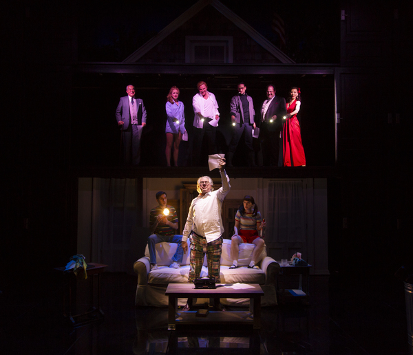 Photo Flash: First Look at Lincoln Center Theater's NANTUCKET SLEIGH RIDE