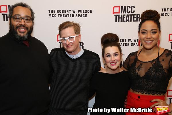Eddie Cooper, Kyle Jarrow, Lauren Worsham and Lilli Cooper