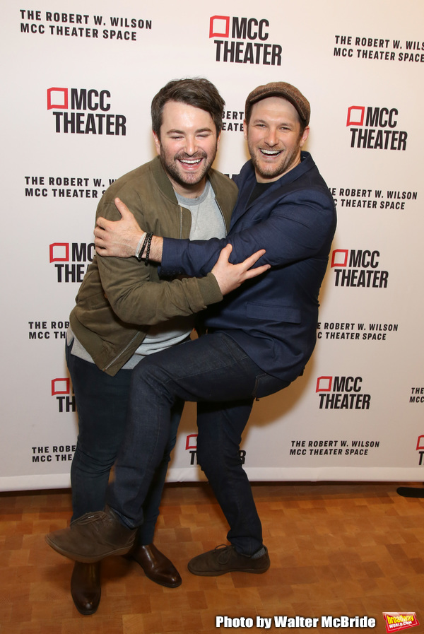Alex Brightman and Drew Gasparini