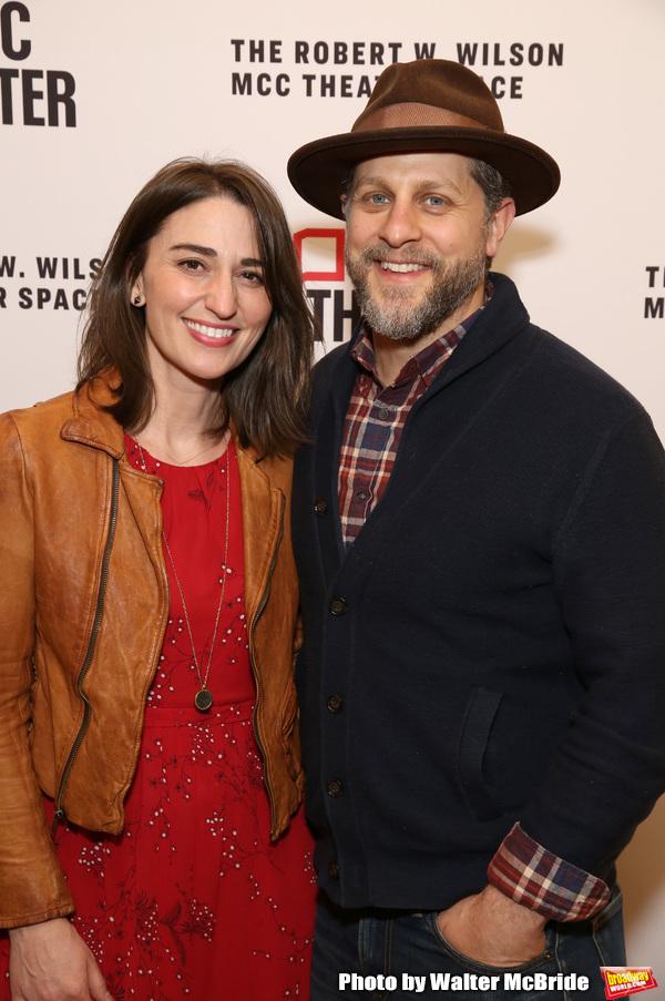 Sara Bareilles and Joe Tippett
