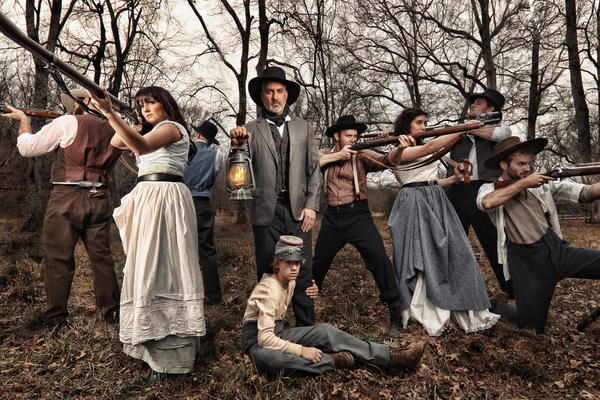 Photo Flash: First Look at Taylor Hicks, Rachel Potter, and the Cast of Serenbe's SHENANDOAH