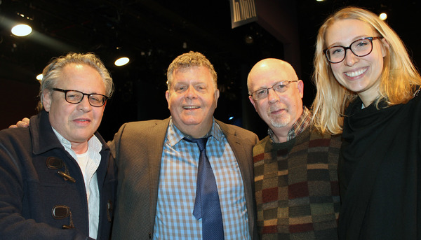 Bill Condon, James Morgan, Erik Haagensen, Emily Maltby.