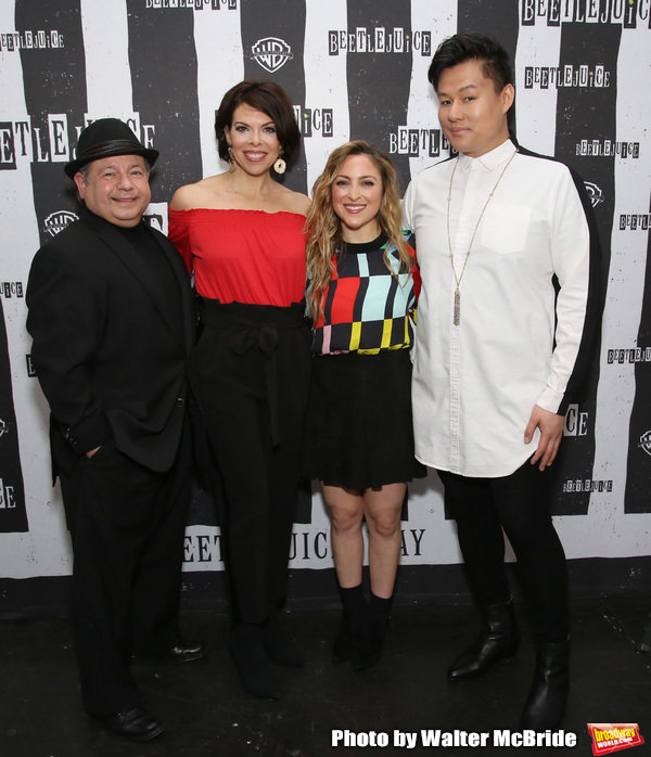 Danny Rutigliano, Jill Abramovitz, Dana Steingold and Kelvin Moon Loh Photo