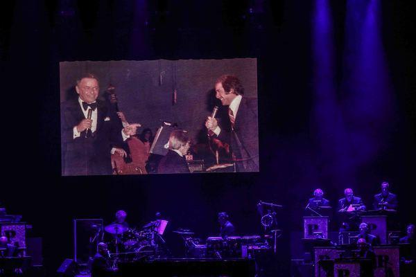 Frank Sinatra & Paul Anka Photo
