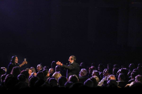 Photo Coverage: Paul Anka Sings Sinatra: His Songs, My Songs, My Way, at The Kravis Center