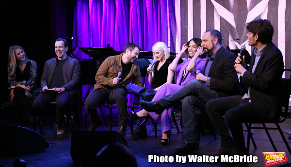Kerry Butler, Rob McClure, Alex Brightman, Sophia Anne Caruso, Leslie Kritzer, Adam Dannheisser and Alex Timbers