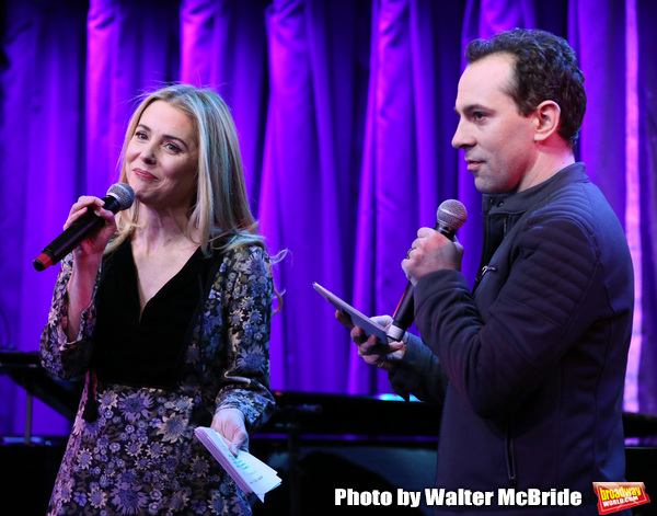 Kerry Butler and Rob McClure