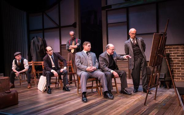 Allan Edwards, Clifton Guterman, Brian Kurlander, Richard Garner, Andrew Benator.  Photo