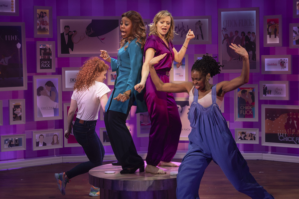 Photo Flash: First Look At CHICK FLICK THE MUSICAL At Westside Theatre
