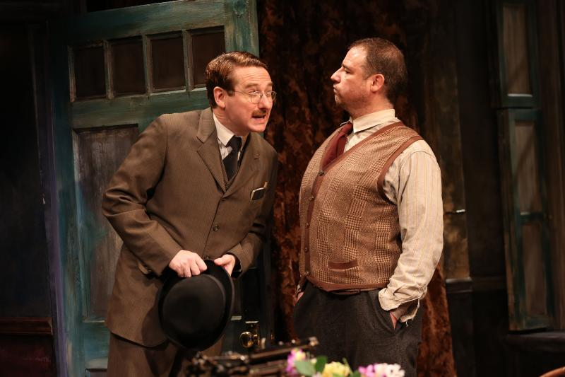 BWW Review: Irish Rep's Richly-Flavored Mounting of Sean O'Casey's THE SHADOW OF A GUNMAN