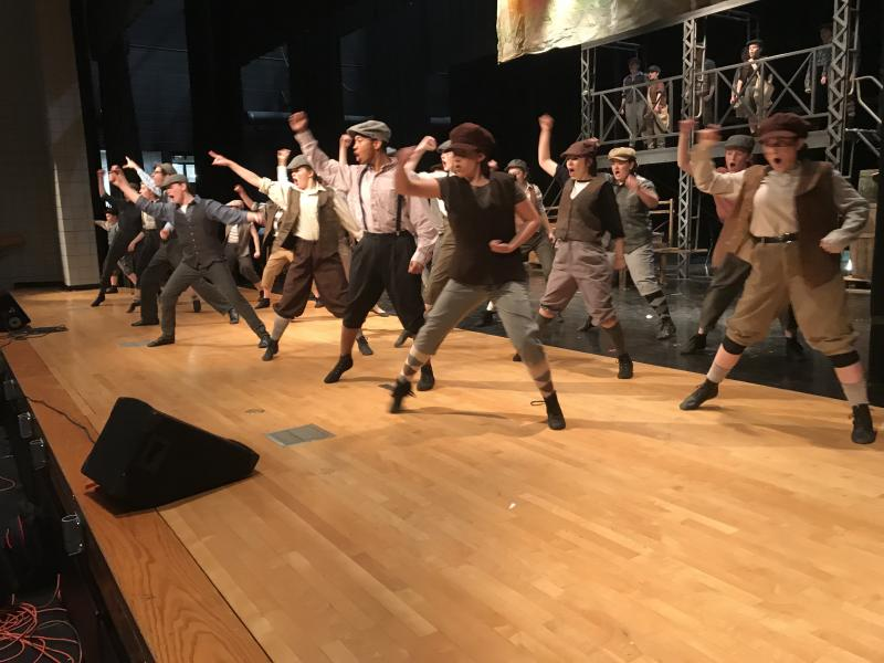 FIRST STAGE THEATRE COMPANY Presents NEWSIES at HUNTINGTON HIGH SCHOOL, Opening On March 8th!