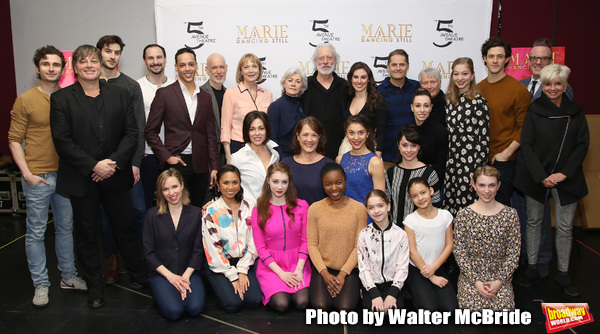 Tiler Peck, Terrence Mann, Louise Pitre, Karen Ziemba, Jenny Powers, Kyle Harris, Dee Hoty, Christopher Gurr and Noelle Hogan with the cast