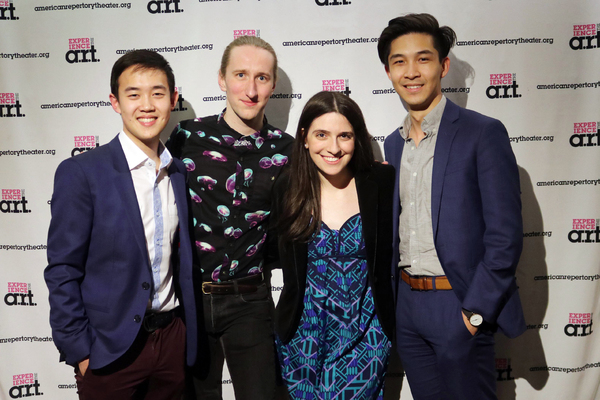 Brian Ge, Mark Mauriello, Sammi Cannold, and Kevin Lin