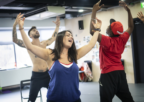Photo Flash: In Rehearsal with the UK Tour of HAIR