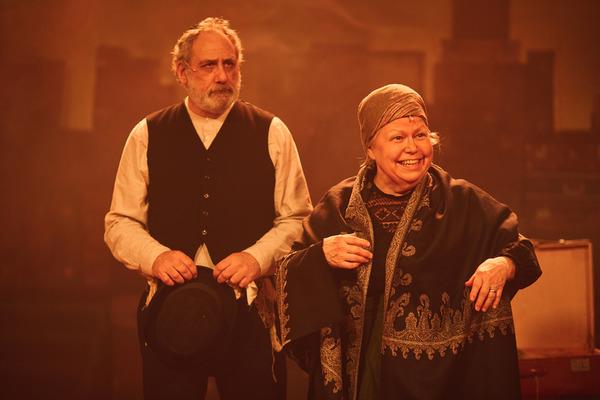 Michael S. Siegel as Avram & Valda Aviks as Rachel Photo
