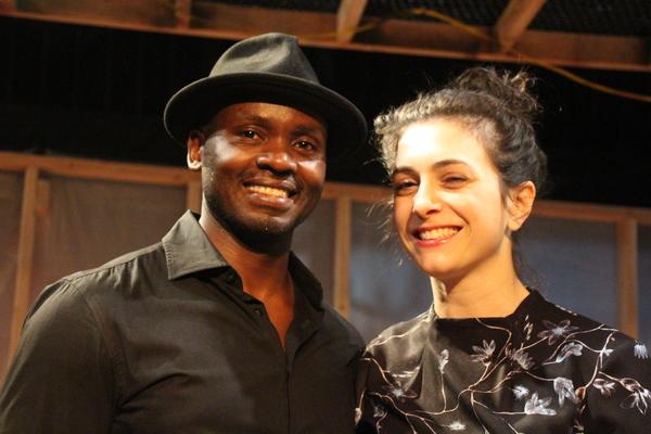 Patrick Ssenjovu and  Sarah Baskins  Photo
