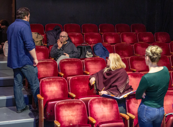 Photo Flash: Emmy Nominated Keith Huff In Rehearsal For NYC Premiere SIX CORNERS