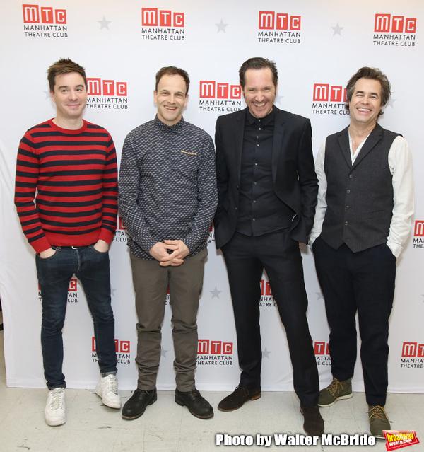James Graham, Jonny Lee Miller, Bertie Carvel and Rupert Goold