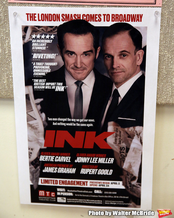 Photo Coverage: Meet the Cast of MTC's INK, Led By Jonny Lee Miller and Bertie Carvel!