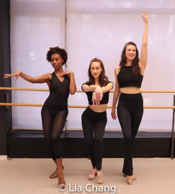 Jenny Laroche, Kaleigh Cronin and Danielle Kelsey