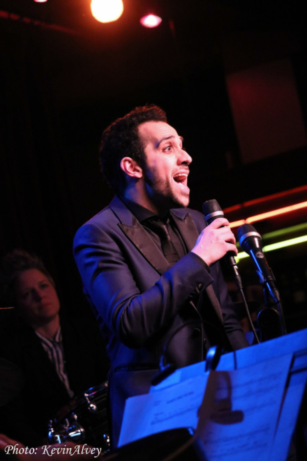 Photos: THE BAND'S VISIT Co-Stars Katrina Lenk and George Abud Come to Birdland