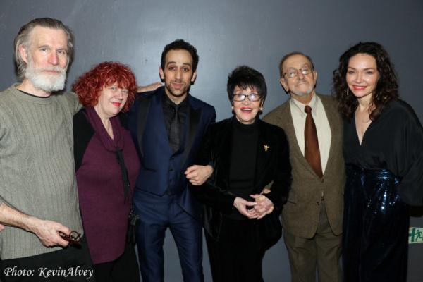 Tom Nelis, Rosie Bentinck, George Abud, Chita Rivera, Bob Nahas, Katrina Lenk