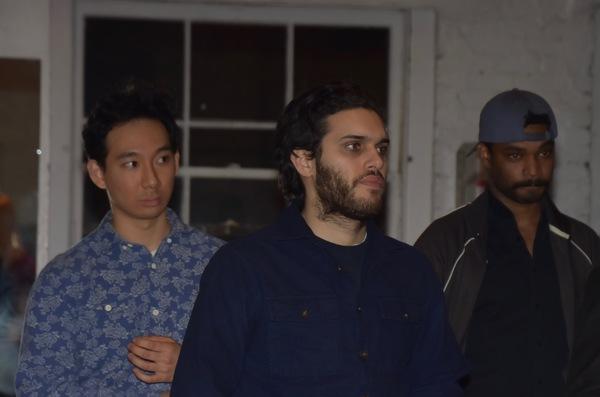 Tenzin Yeshi, Aria Shahghasemi and Wesli Spencer
