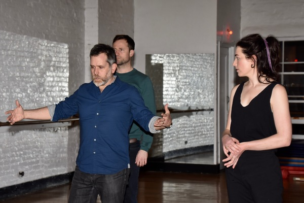 Sean Hagerty, Jonathan Forbes and Alice Marks Photo