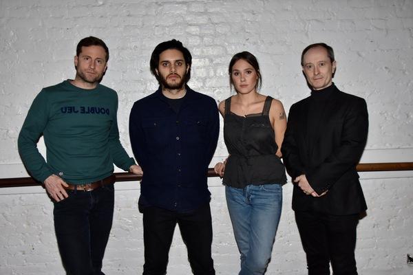 Jonathan Forbes, Aria Shahghasemi, Eden Brolin and Andrew Sellon