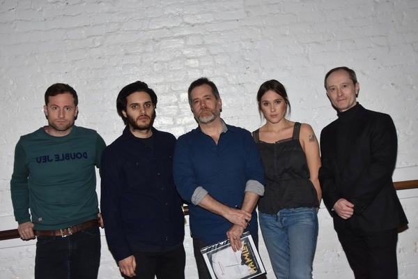 Jonathan Forbes, Aria Shahghasemi, Sean Hagerty, Eden Brolin and Andrew Sellon