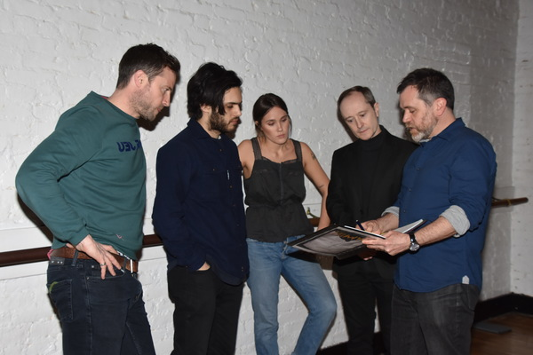 Jonathan Forbes, Aria Shahghasemi, Eden Brolin, Andrew Sellon and Sean Hagerty