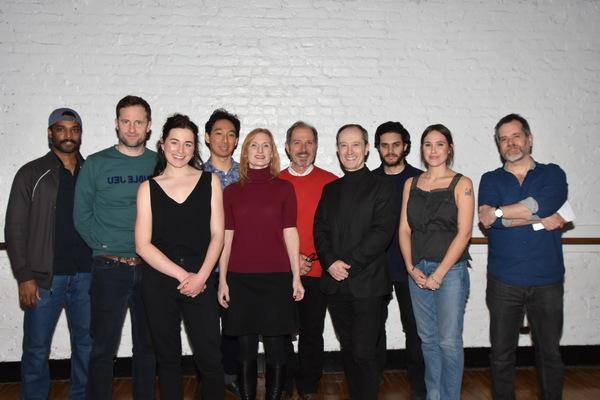 Artistic Director of Shakespeare@ joins with the cast-Wesli Spencer, Jonathan Forbes, Alice Marks, Tenzin Yeshi, Thia Stephan, Mark Torres, Andrew Sellon, Aria Shahghasemi and Eden Brolin