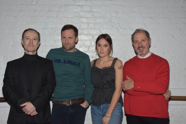 Andrew Sellon, Jonathan Forbes, Eden Brolin and Mark Torres