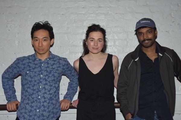 Tenzin Yeshi, Alice Marks and Wesli Spencer