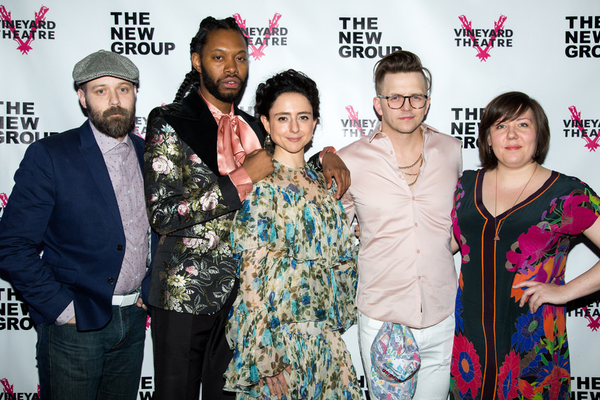 Matt Saunders, Jeremy O. Harris, Danya Taymor, Lee Kinney, Isabella Byrd Photo