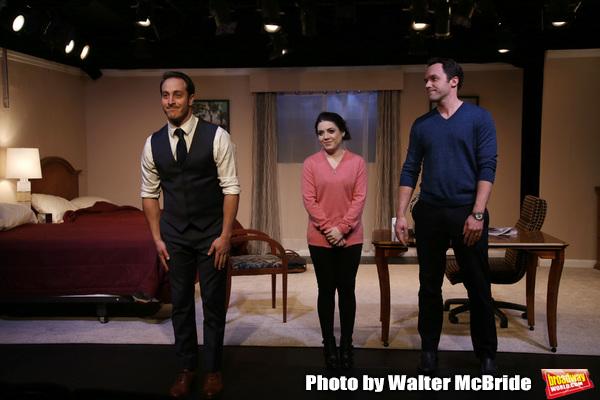 Jordan Sobel, Caitlin Gallingly and Christopher M. Smith  Photo