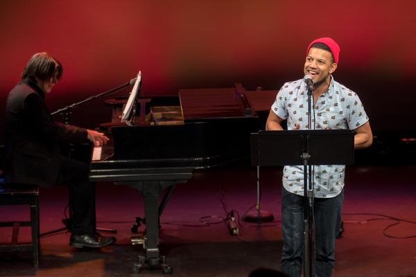 Jamie Cepero with Eric Svejcar at piano Photo