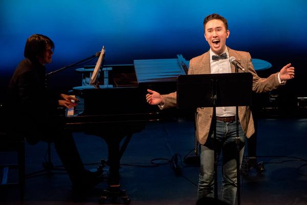 Kennedy Kanagawa with Eric Svejcar at piano Photo