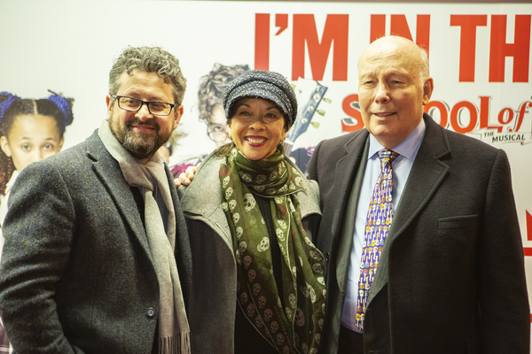 Laurence Connor, Joann M. Hunter, and Julian Fellowes Photo
