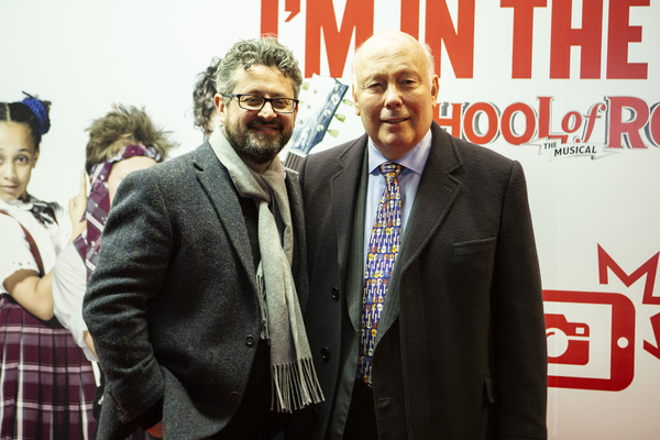 Laurence Connor and Julian Fellowes Photo