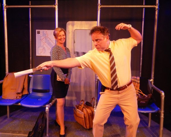 Photo Flash: First Look at Pigs Do Fly Productions' 2 ACROSS