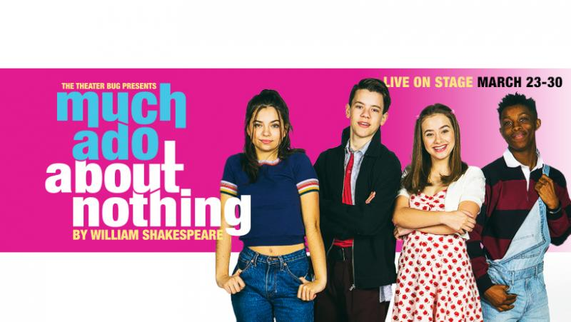 Santiago Sosa-Directed MUCH ADO ABOUT NOTHING Coming Up At The Theatre Bug