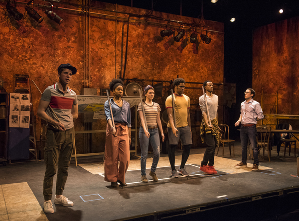 Photo Flash: First Look at Steppenwolf's WE ARE PROUD TO PRESENT A PRESENTATION...