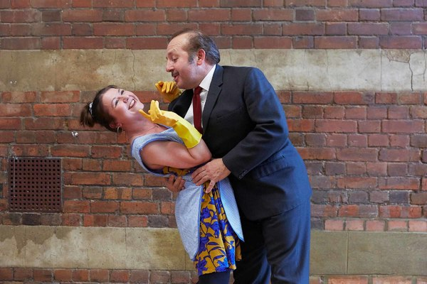 Photo Flash: Inside Rehearsal For ABSURD PERSON SINGULAR at Watford Palace Theatre