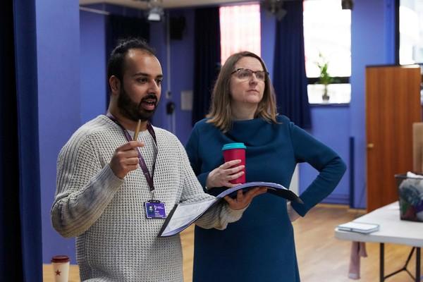 Vedi Roy and Brigid Larmour Photo